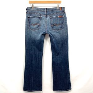 7 FOR ALL MANKIND Bootcut Jeans Size 32 C18